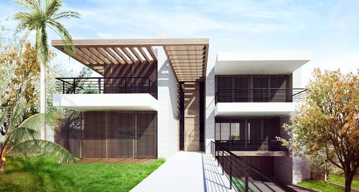 Casa MJD: Casas  por Mantovani e Rita Arquitetura