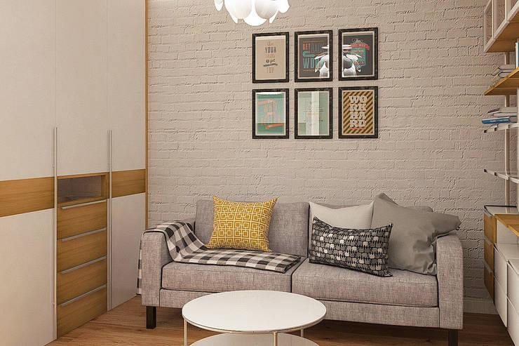 Livings de estilo  por CO:interior