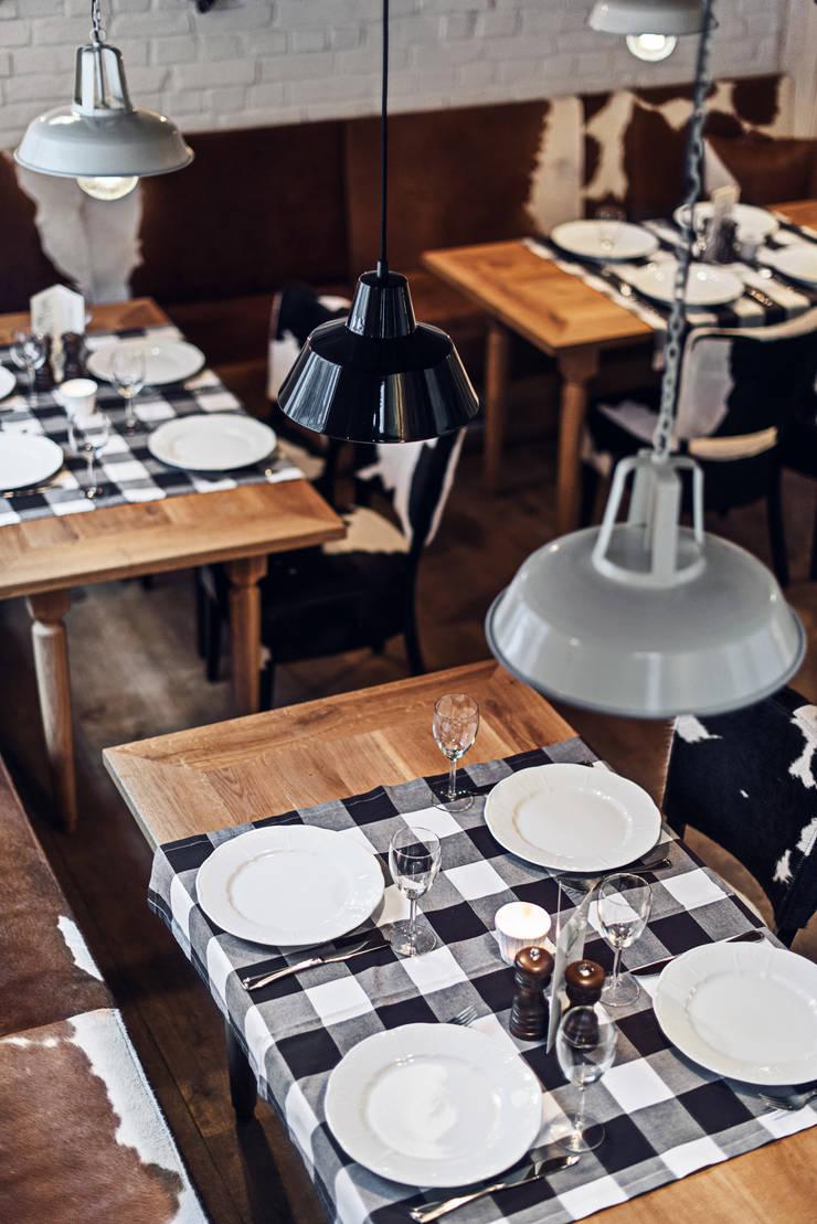 Restauracja Althaus: styl , w kategorii Gastronomia zaprojektowany przez PB/STUDIO