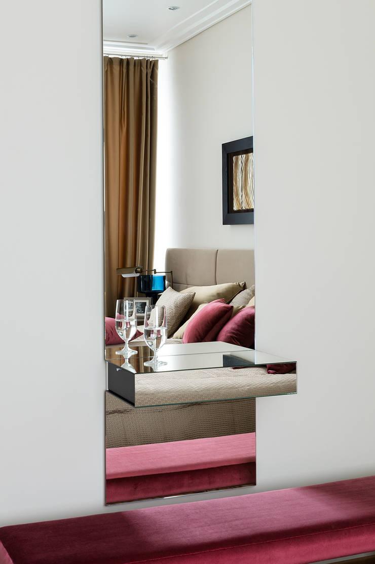 Квартира 140 кв.м. в жилом комплексе <q>Авеню 77</q>: Спальни в . Автор – Дизайн-бюро Галины Микулик