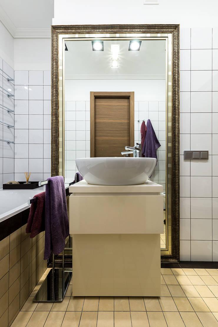 Квартира 140 кв.м. в жилом комплексе <q>Авеню 77</q>: Ванные комнаты в . Автор – Дизайн-бюро Галины Микулик