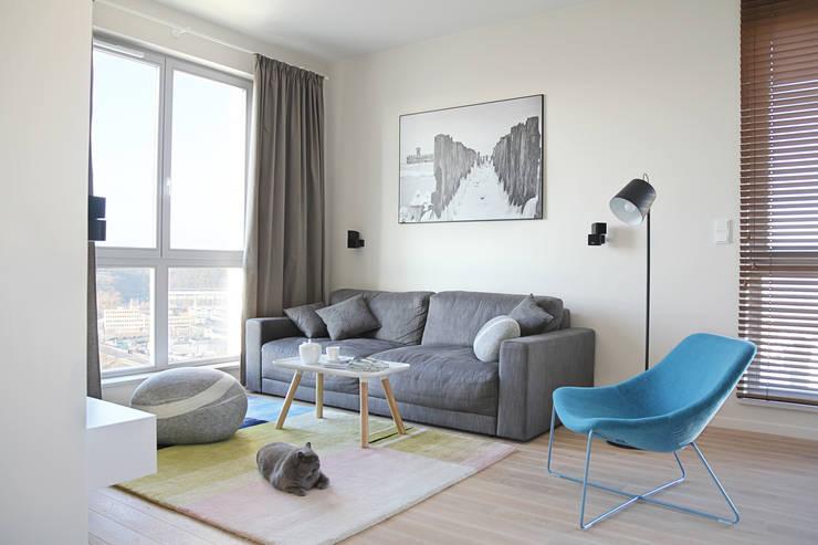 scandinavian Living room by PB/STUDIO