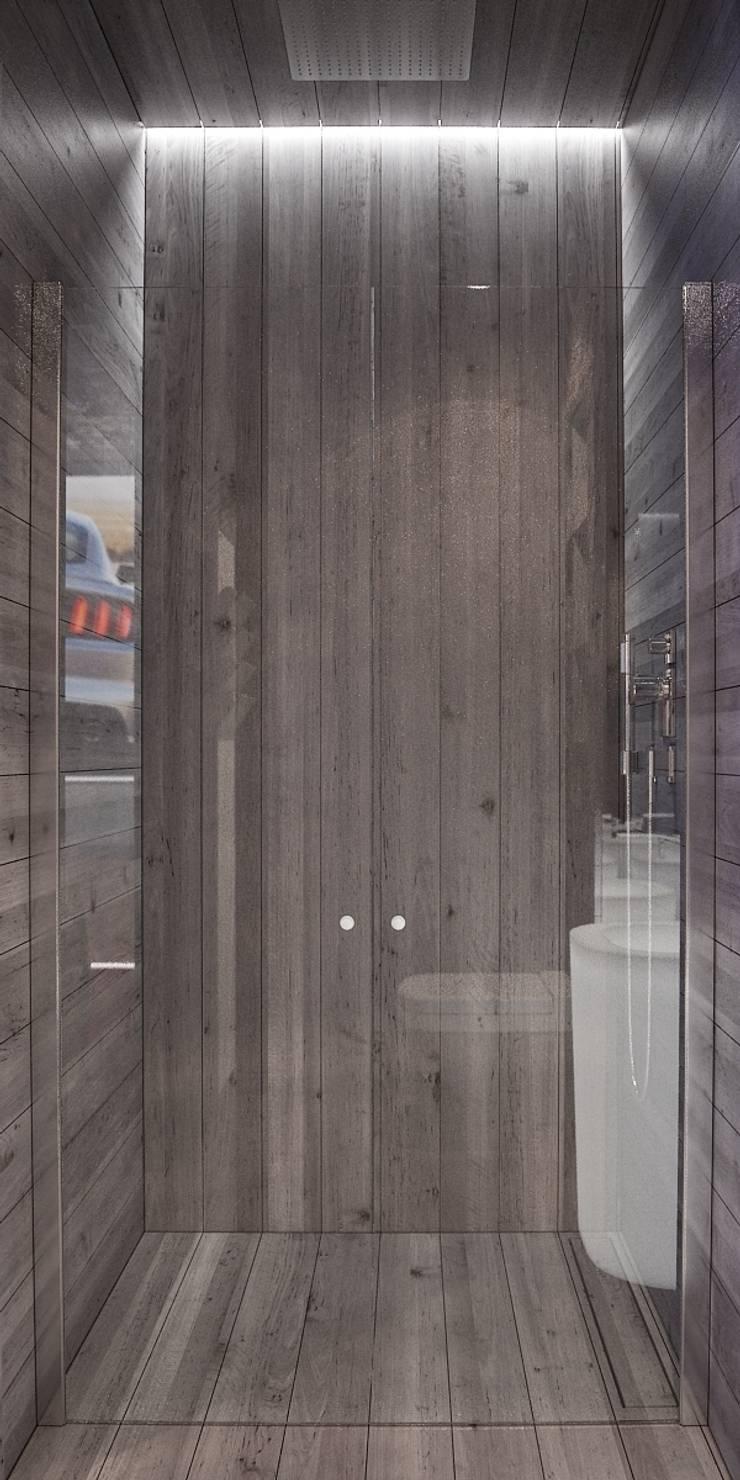 미니멀리스트 욕실 by FEDOROVICH Interior 미니멀