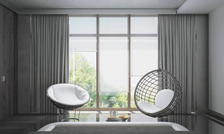 Dormitorios de estilo  de FEDOROVICH Interior