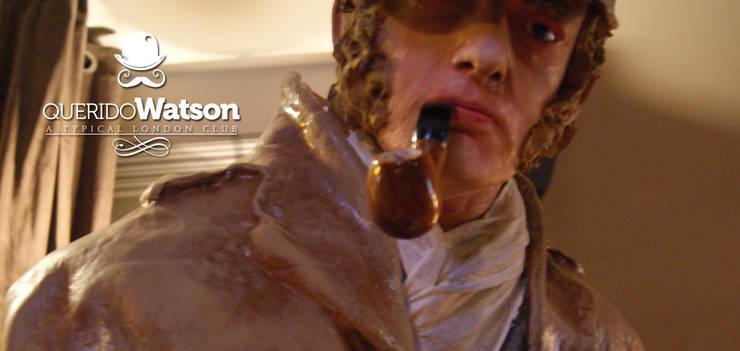Querido Watson: Locales gastronómicos de estilo  de BLAKINTERIORISMO,S.L.
