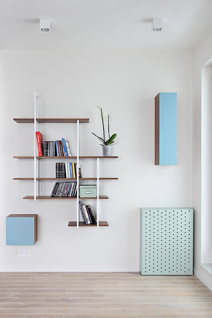 Apartament SW: styl , w kategorii Salon zaprojektowany przez PB/STUDIO,