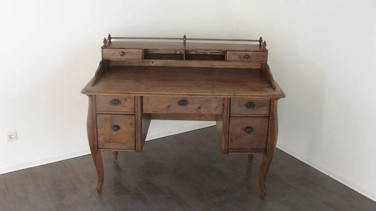 Antik Schreibtisch :  Arbeitszimmer von Antik & Kunst Nermesan