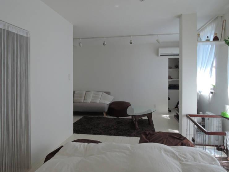 初台の家: 株式会社エキップが手掛けた寝室です。,オリジナル