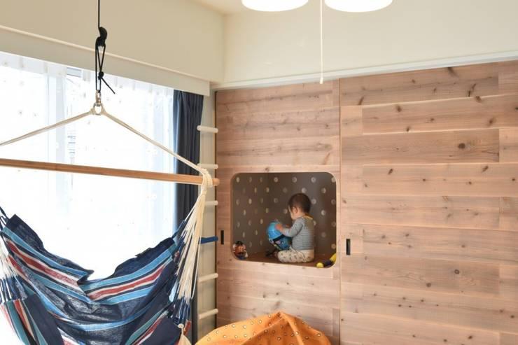 富ヶ谷の家(仮称) すくすくリノベーション vol.5: 株式会社エキップが手掛けた子供部屋です。