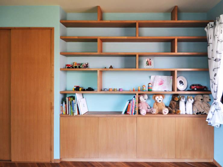 世代交代した家 すくすくリノベーション vol.2: 株式会社エキップが手掛けた子供部屋です。,