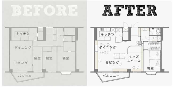 ステージのある家 すくすくリノベーション vol.4: 株式会社エキップが手掛けたです。