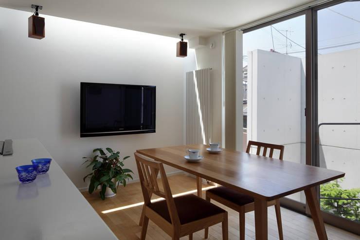 南台の家: 長浜信幸建築設計事務所が手掛けたダイニングです。