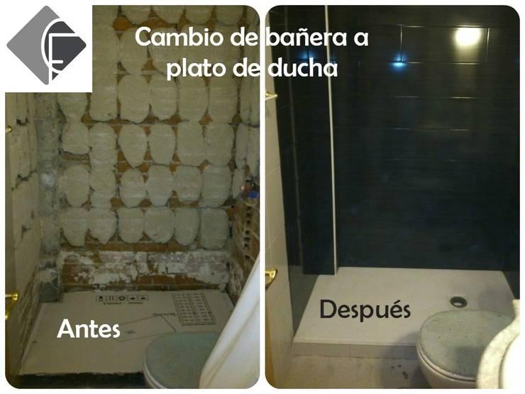 Plato de ducha:  de estilo  de Fecofer, Proyectos y Reformas