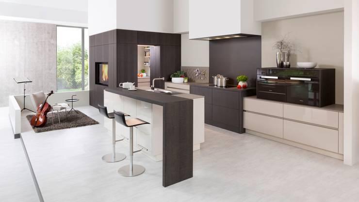 Projekty,  Kuchnia zaprojektowane przez Rempp Küchen GmbH