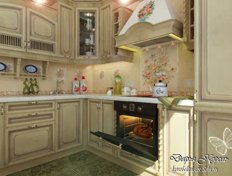 kitchen: Кухни в . Автор – Your royal design