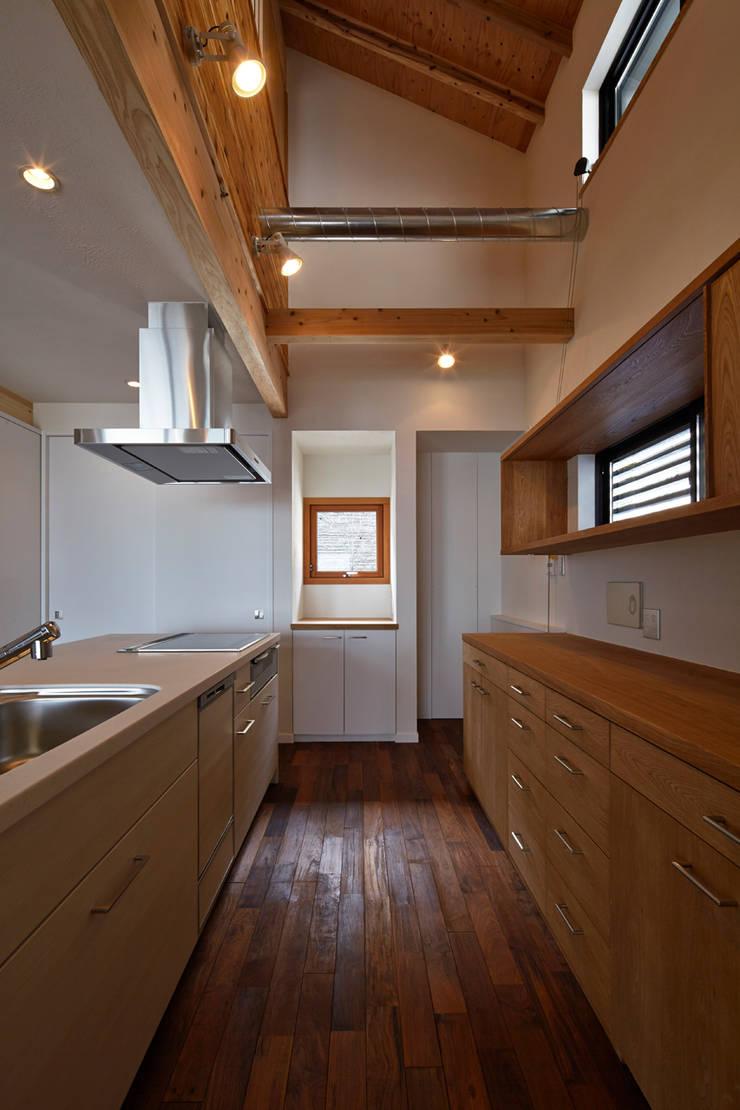 キッチン: 1級建築士事務所 アトリエ フーガが手掛けたキッチンです。,北欧