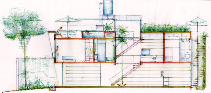 casa Luz   Vila Madalena:   por ARQdonini Arquitetos Associados