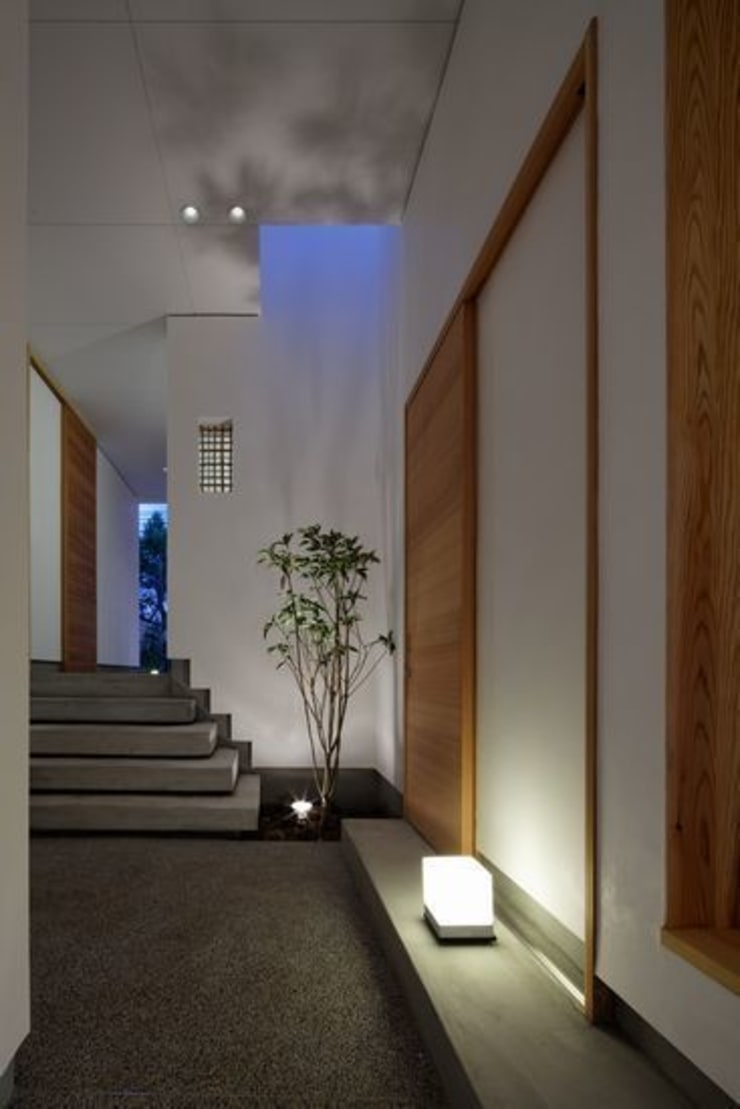 #00a497 モダンスタイルの 玄関&廊下&階段 の 有限会社アルキプラス建築事務所 モダン