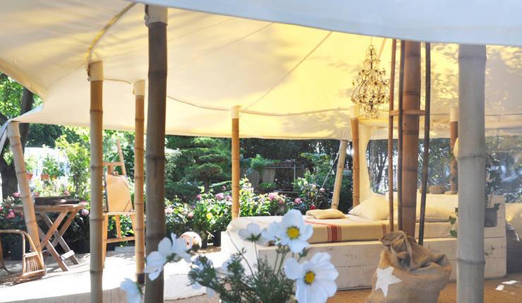 Jardín de estilo  por Marie de Saint Victor