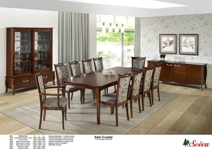 Sala de Jantar / Dining room : Sala de jantar  por Seiva Móveis