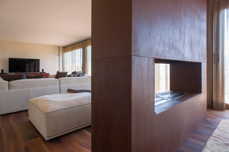 Residenza Colli Veneti: Sala da pranzo in stile in stile Moderno di Andrea Tommasi