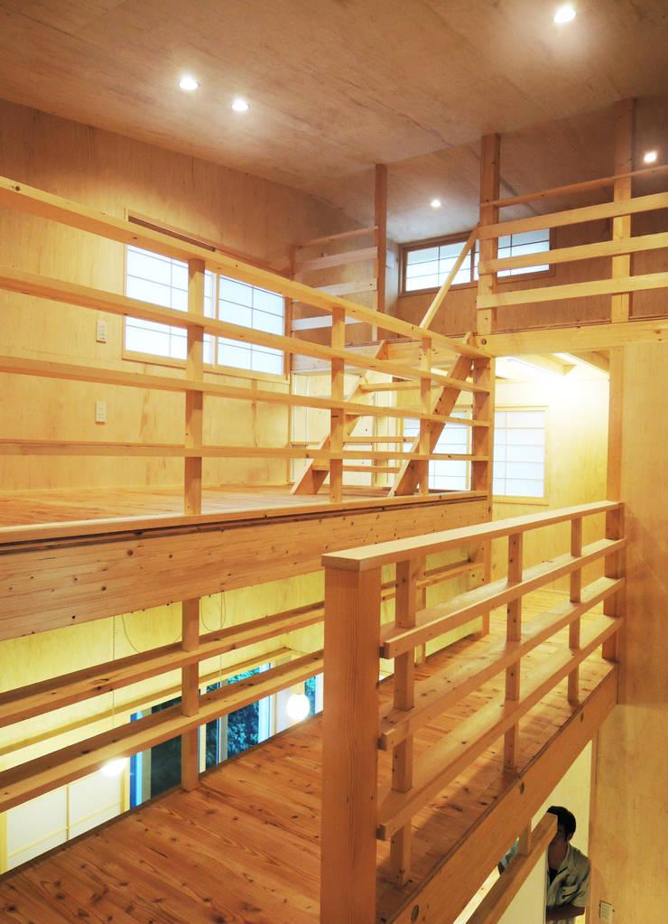 円山 どんぐりハウス: 有限会社 伊達計画所が手掛けた和室です。,オリジナル