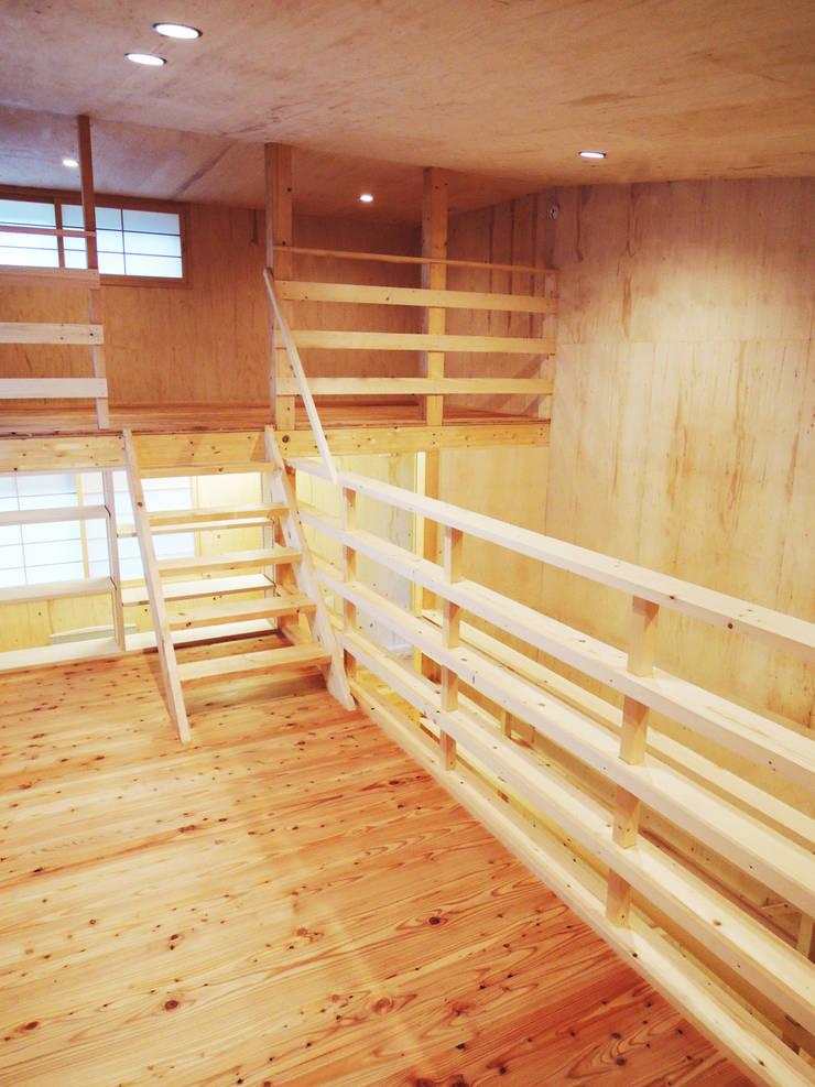 円山 どんぐりハウス: 有限会社 伊達計画所が手掛けた和室です。