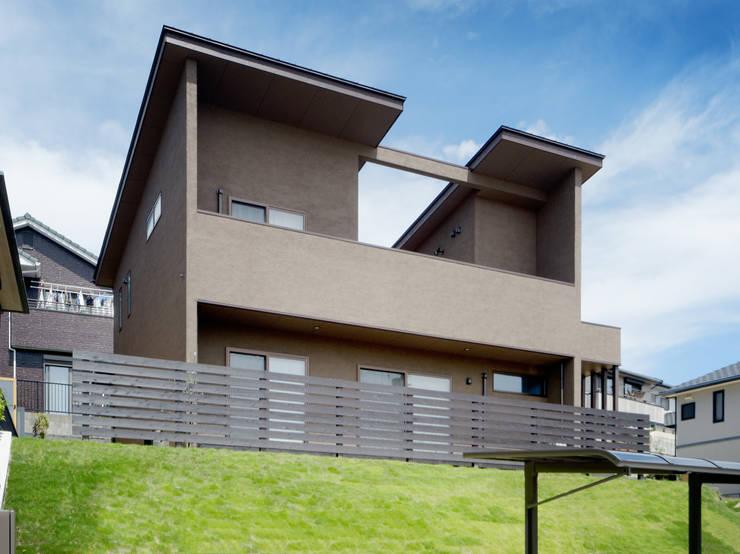 南面近景 日本家屋・アジアの家 の KEN-空間設計 和風