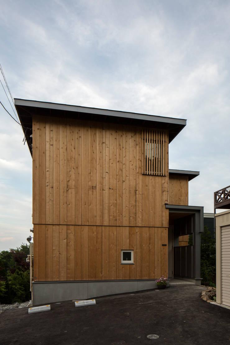 円山西町 木箱: 有限会社 伊達計画所が手掛けた家です。,
