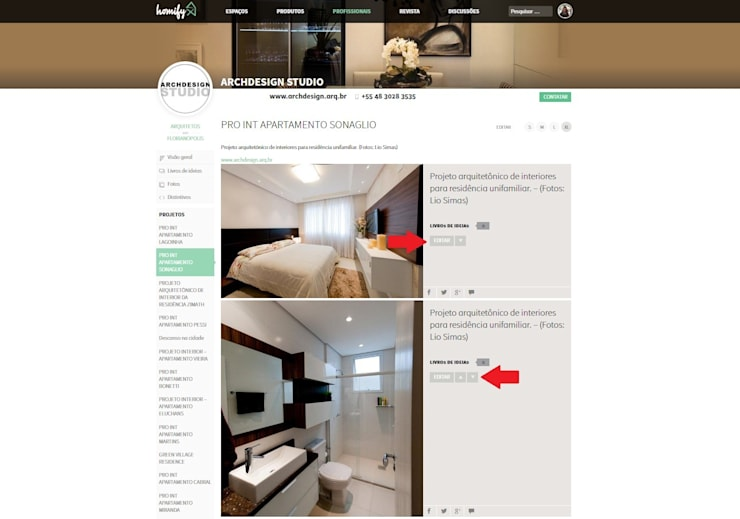 Como editar as informações das imagens mais tarde?:   por Apoio homify
