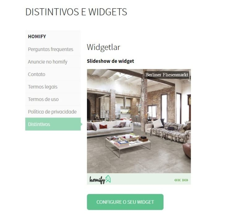 O que é um widget?:   por Apoio homify