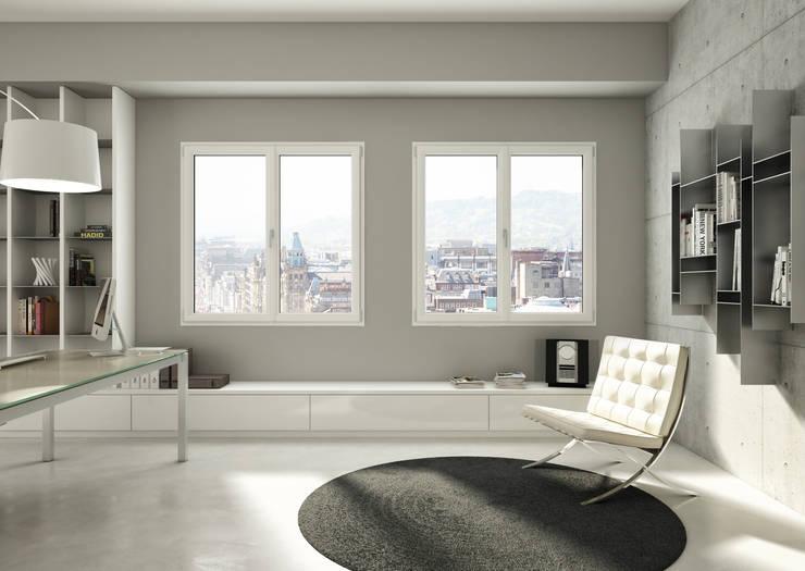 Oknoplast  presenta la prima e unica finestra studiata per la ristrutturazione  : Finestre in PVC in stile  di Oknoplast