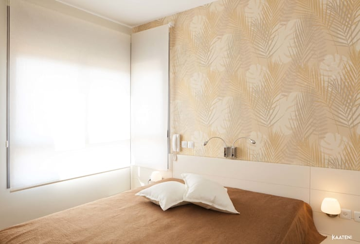 Estor enrollable dormitorio - Kaaten: Dormitorios de estilo  de Kaaten