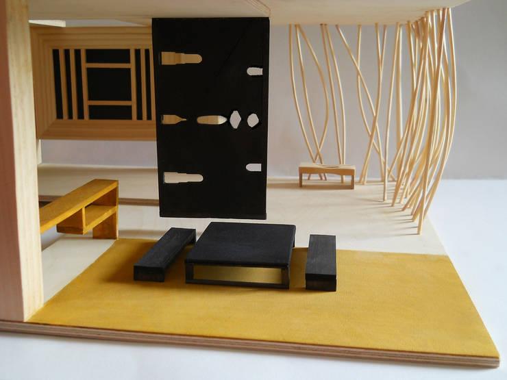 Dining room by muskat18, Minimalist
