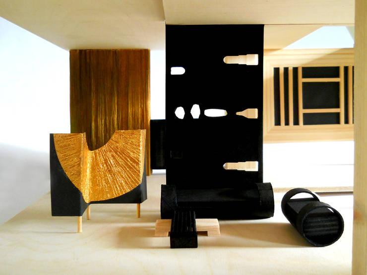 Living room by muskat18, Modern