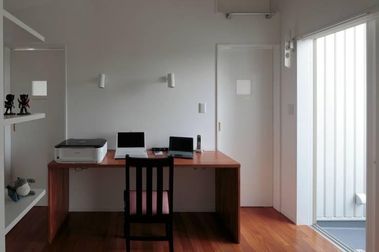 すべり台の家: 一級建築士事務所あとりえが手掛けた書斎です。,