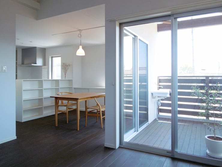 Dining room by wada architectural  design office 和田設計