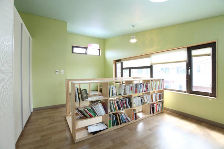 غرفة نوم تنفيذ 주택설계전문 디자인그룹 홈스타일토토