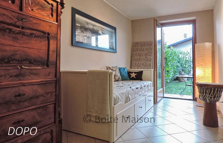 CAMERA DEGLI OSPITI - dopo l'Home Staging:  in stile  di Boite Maison