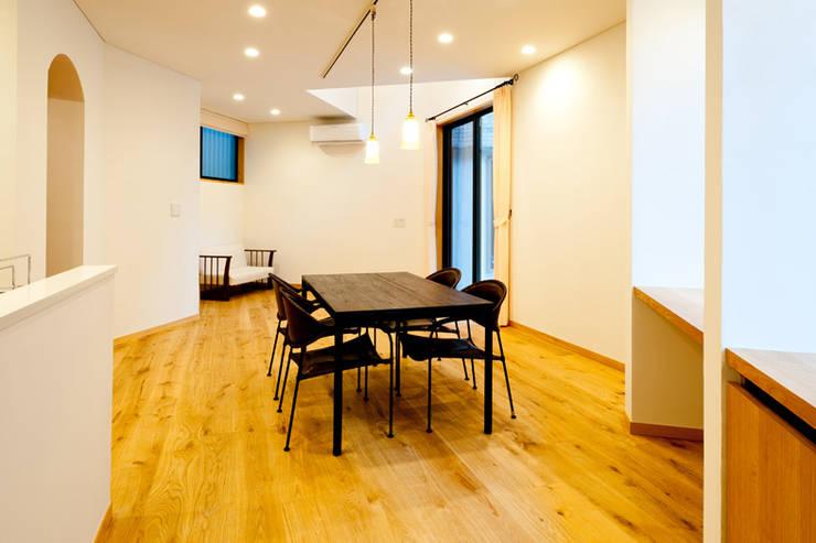 Столовые комнаты в . Автор – アルキテク設計室,