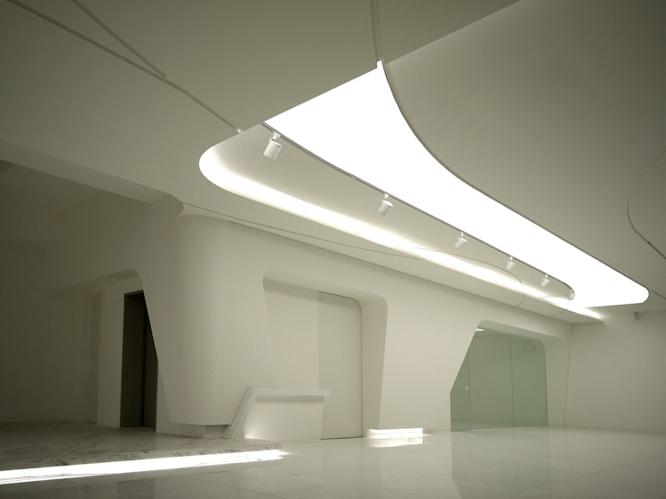 White Wave @ Casa W: Design Tomorrow INC.의  거실