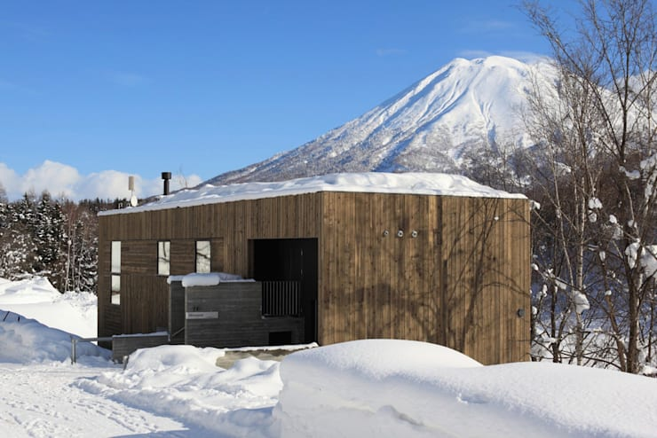 MISOSAZAE: ヒココニシアーキテクチュア株式会社が手掛けた家です。