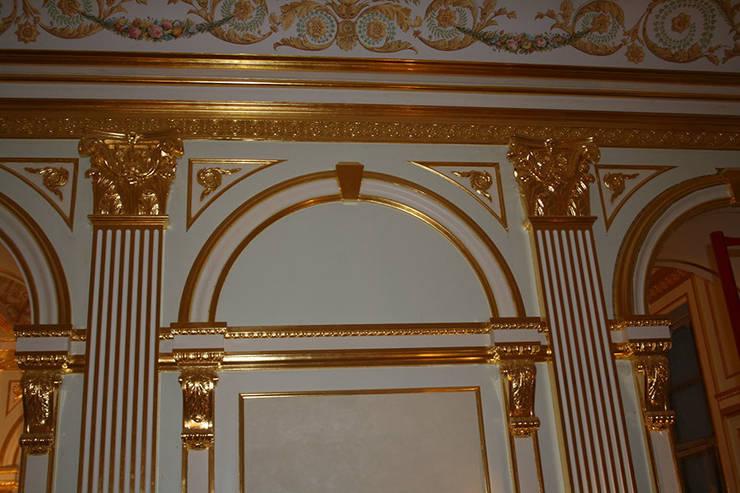 золотая классика: Гостиная в . Автор – Абрикос , Классический
