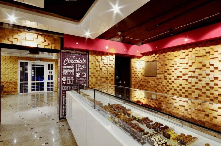 Couverture Chokolatier Cafe - ALLARSTDESIGN: Офисные помещения и магазины в . Автор – ALLARTSDESIGN