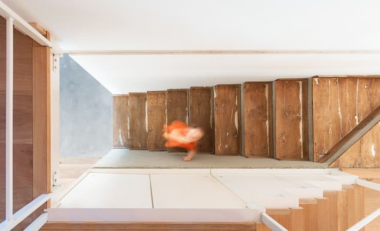 Corridor & hallway by paolo carlesso architetto, Minimalist