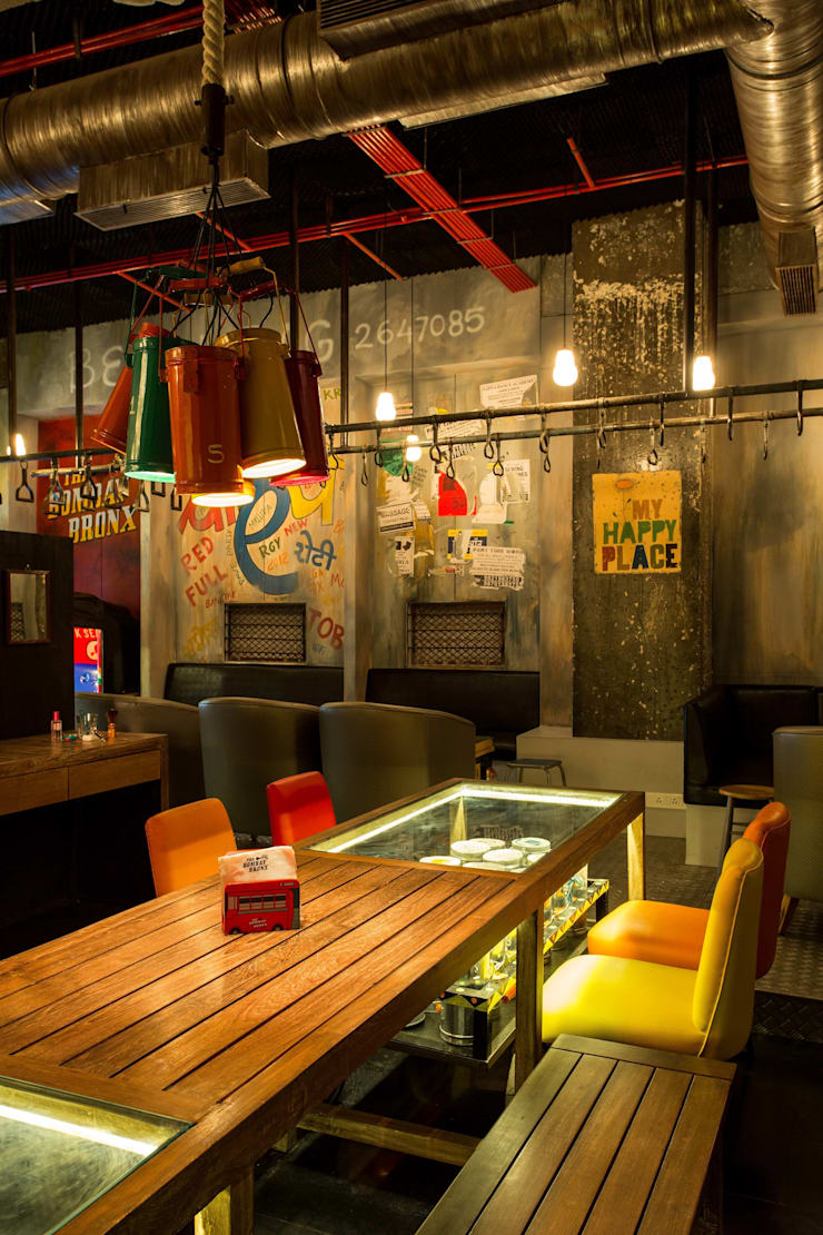 The Bombay Bronx :  Commercial Spaces by The Orange Lane