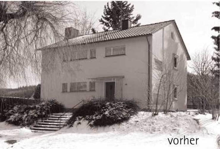 Ansicht Bestand von Norden:   von architektur plan b