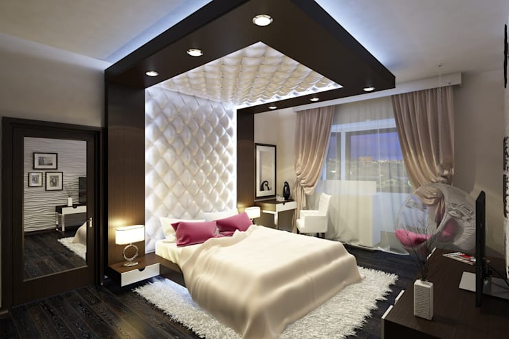 Квартира в Митино: Спальни в . Автор – Geometrium