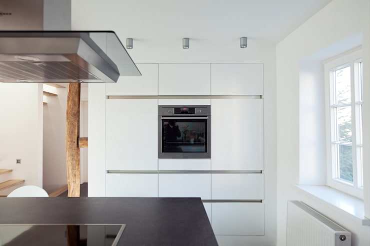 Projekty,  Kuchnia zaprojektowane przez Fachwerk4 | Architekten BDA