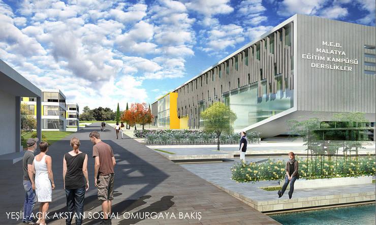 Lab::istanbul – M.E.B. Malatya Fırıncı Eğitim Kampüsü:  tarz Okullar, Modern